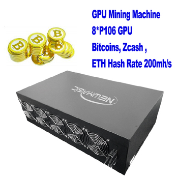 2017 hot fast delivery ethereum mining machine hashrate 200-300mh/s for Zcash XMR ethereum miner