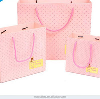 Custom printed Paper Bag Printing with Best Price and Logo Print in High Quality Made in China