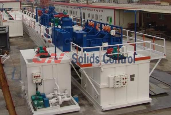 Mud recycling/Mixing system for Petroleum/Hdd/Oilfield Drilling