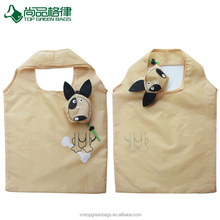 Cheap cute animal foldable bag recycle folding shopping bags