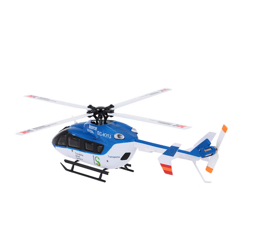 Original XK K124 6CH 3D 6G System Brushless Motor helicopter radio control RTF RC Helicopter