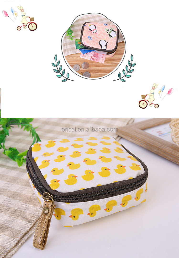 Encai Cute Girls Carry Bag Mini Cosmetic Bag