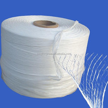 Flame retardant PP spilt cable filler yarn