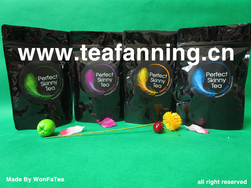 The 28 Day Fruit flavor Weight Loss Tea Private label, Customized all kinds of USFDA Herbal Teas