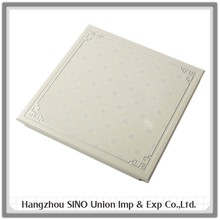 Quality assured decorative aluminum integrated suspended ceiling panel/board/plate