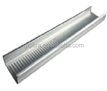 Gypsum Plaster Board Steel Materials/gypsum drywall ceiling partition profiles for Myanmar