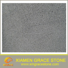 Chinese nature polish Hainan pure black granite floor tile slab cut to size