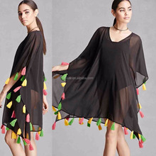 Woman Top Selling Products in Alibaba American and Beyond Fringe Latest Design Girls Top 2017 Latest Fashion Top Design