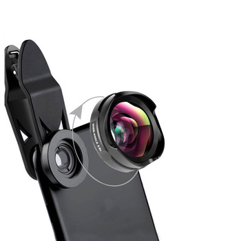 Universal Phone Lens 0.6X Wide Angle Macro Lens No Distortion Aukey Lens for iPhone 8 7 Plus
