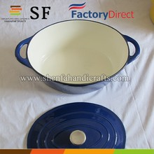 Die cast iron cookware boiler / enameled cookware for kitchen