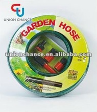PVC Shrinking Garden Hose With Multi-function Spray Gun