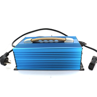 Automatic 3 Stage 12V lead acid power bank portable 220v battery power charger