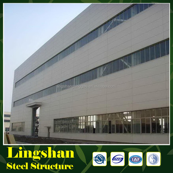 China Supplier Steel Workshop Lightweight Steel Structure