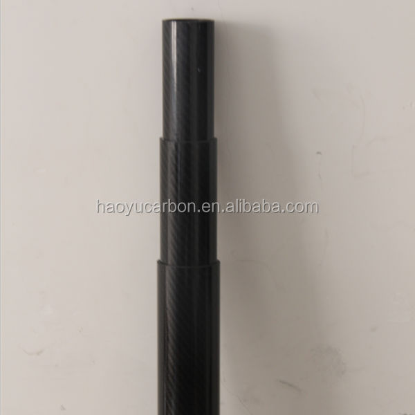 Carbon fibre telescopic poles made in China