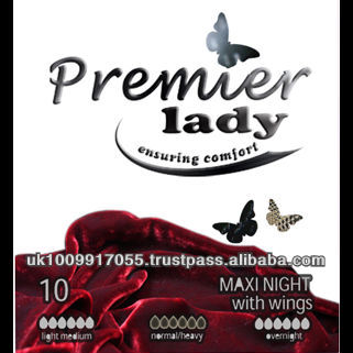 Premier Lady Maxi Night Sanitary Napkin