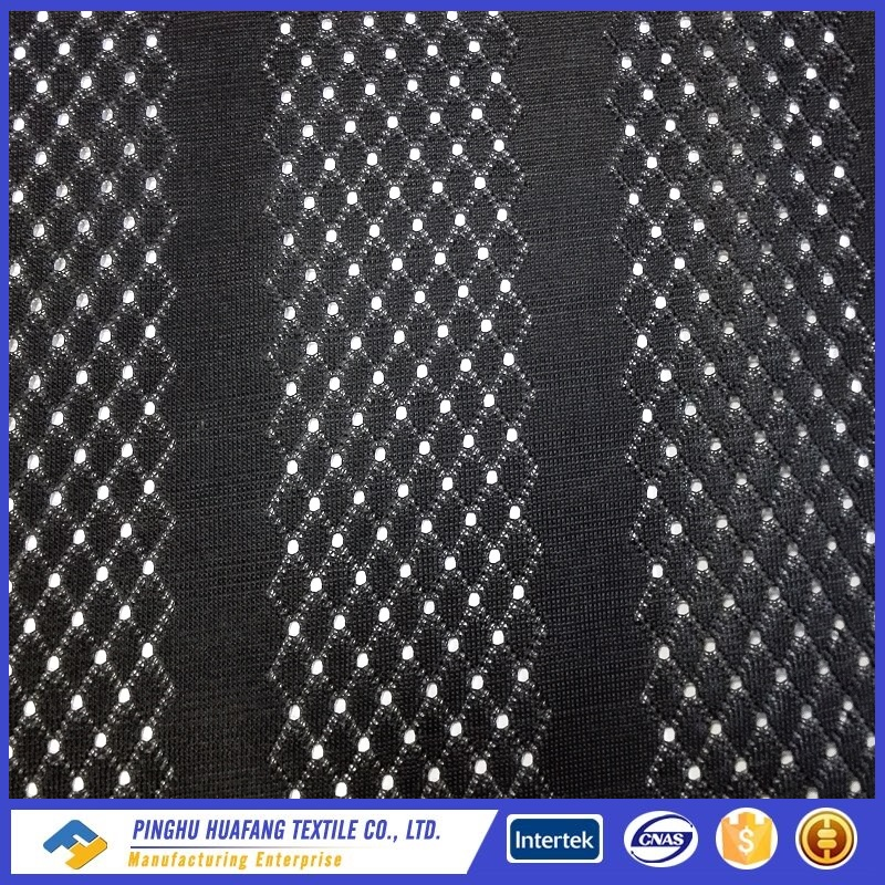 polyester tricot mesh lining fabric