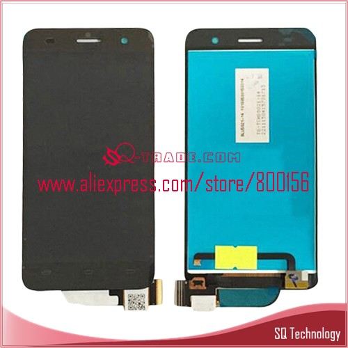 Mobile Phone Spare Parts for Lenovo S858 S858T LCD Screen Display withTouch Screen Digitizer Assembly Black color