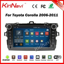 Kirinavi WC-TC8762 android 5.1 car multimedia system for toyota corolla 2006-2011 2 din touch screen car gps navigation radio