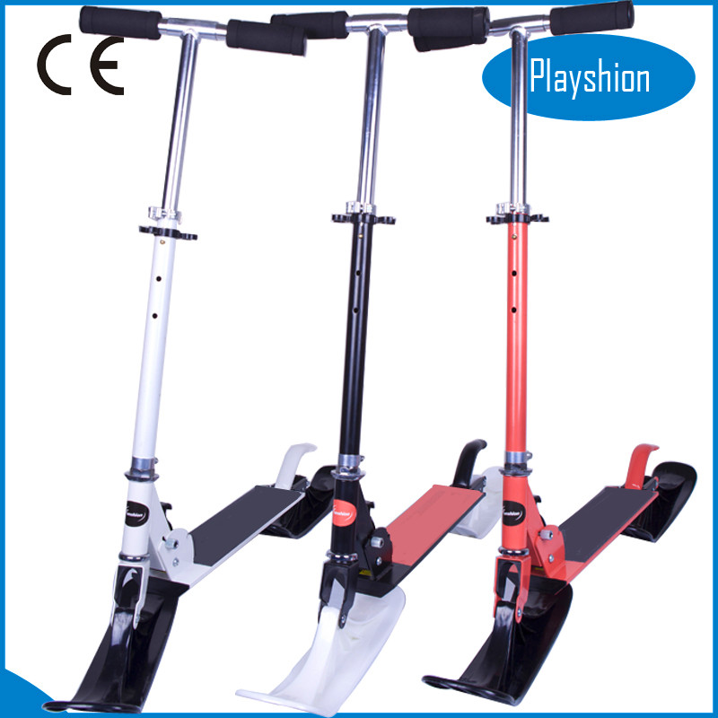 Best selling snow bike scooter folding snow scooter