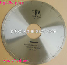 Sharp Point Diamond Saw Blade For Cutting Ceramic