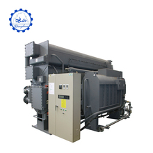 Durable flue gas libr absorption direct fired libr chiller vacuum boiler