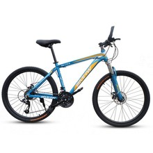 New 24 Inch Steel Frame Suspension Fork Mountain Bicycle Children bike