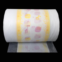 perforated pe film and nonwoven lamination backsheet for diaper