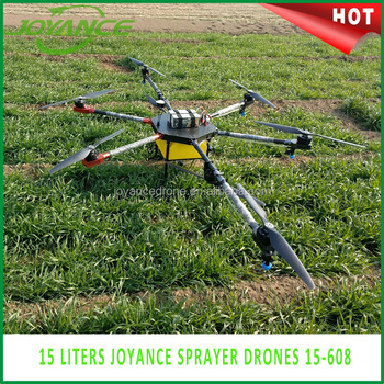 Joyance Drone Uav Drone Crop Sprayer 6 Axis 8 motors 15Kg Agriculture Spraying Machine Agriculture Drone For Agriculture Purpose