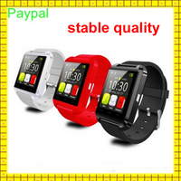 2016 cheap Anti lost alarm bluetooth android wrist smart watch u8