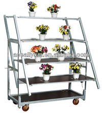 Bottom price!!! Plants Trolley,Plants tooling Cart,Plants tooling Stand