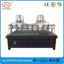 hot sale!machines used in furniture manufacturing,funiture carving cnc router multiheads