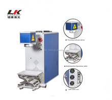 20W Metal Fiber Laser Marking Engraving Machine For Jewelry Stainless Steel
