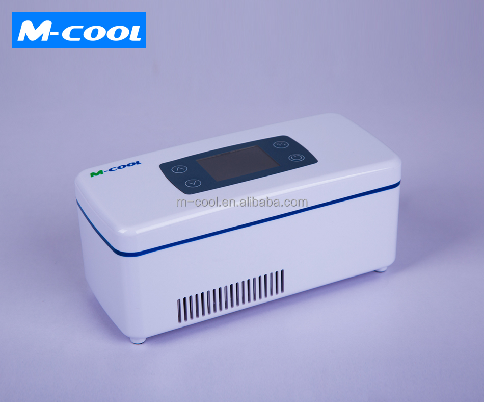 M-COOL China factory new supply customized insulin cooler box/bag/pen case medical fridge portable mini refrigerator 12v 24v