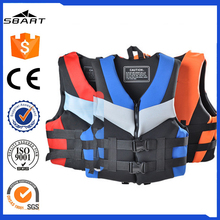 OEM high quality neoprene portable marine life jacket for fishing,paddling,drifting