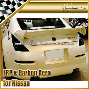 For Nissan 350Z Z33 Fab-Style Rear Trunk Spoiler Wing