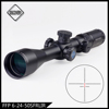 Chinese TOP OEM riflescopes manufacturer Discovery FFP first focal plane rifle scope optic