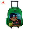 2017 Wholesale cute kids school wheel bags trolley bag