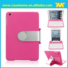 Wholesale bluetooth keyboard leather case for ipad mini 2 case