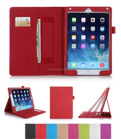 Hot selling Quality-assured Water proof leather case for iPad Air 2*ODM&OEM accepted