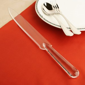Acylic cake cutting knife
