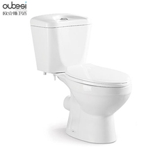 Washdown flushing ceramic two piece washdown dual flush toilet basin with low price