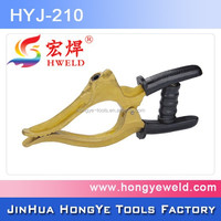 digital earth clamp for welding machine
