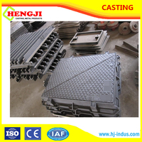 Cast iron / ggg50 ductile cast iron Square manhole cover