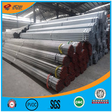 Hot Rolled/Pre Galvanized Round Steel Pipe /Tube China Supplier