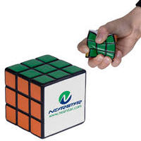 Cube shaped stress reliever