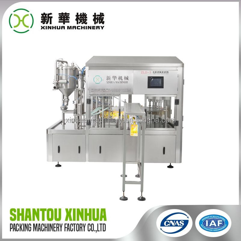 Perfect Quality retort water pouch packing machine manufactor