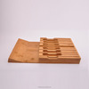 Universal Bamboo knife holder knife block