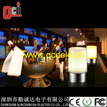 cordless morden led table lamp for nightclub,USB rechargeable led lamp