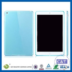 C&T Best price oem new design tpu glossy thin transparent case for ipad mini 4 case