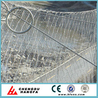 Energy absorption type rockfall prevention fence for slope protection